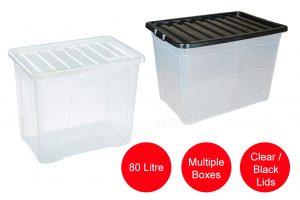 80 Litre Plastic Box
